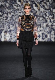 Nicole Miller Marches Modern Urban Warriors Down the Runway for Fall 2014 (Runway Review)
