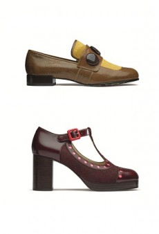 Sneak Peek: Orla Kiely Teams Up with Clarks Again for Fall 2014
