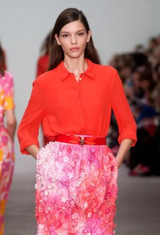 Runway Inspiration: Fall in Love with These Red and Pink Color Combinations