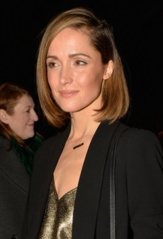 Rose Byrne Joins the Front Row at Milan Fashion Week