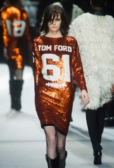Tom Ford Knocks Off the Knockoff for Fall 2014 (Runway Review)