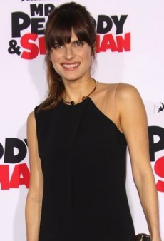 Lake Bell Creates an Illusion in a Black Jumpsuit from Stella McCartney