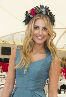 Get the Look: Myer Ambassador Laura Dundovic at The BMW Sydney Carnival Cellarbrations Ladies Day