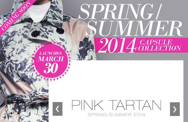 Pink Tartan TSC 2