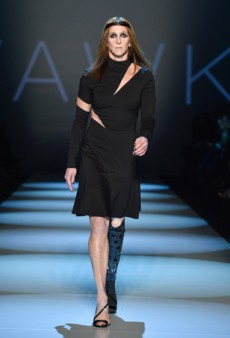 Toronto Fashion Week Day One: Amputee Runner Amy Winters Wows at VAWK