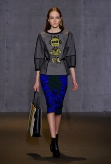 Andrew Gn Showcases Cool Cartoons and Cut-Outs for Fall 2014 (Runway Review)