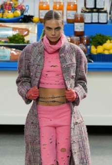 Chanel Opens a Supermarket for Fall 2014 (Runway Review)
