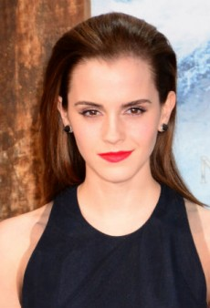 Get Emma Watson's Classic Beauty Look for Evening