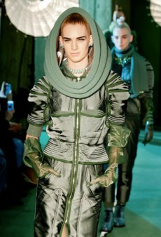 Jean Paul Gaultier Looks to the Future and Space for Fall 2014 (Runway Review)