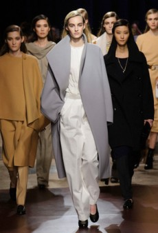 No Embellishments Needed at Hermes Fall 2014 (Runway Review)