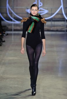 Jean-Charles de Castelbajac Dresses the Modern Woman to a T for Fall 2014 (Runway Review)