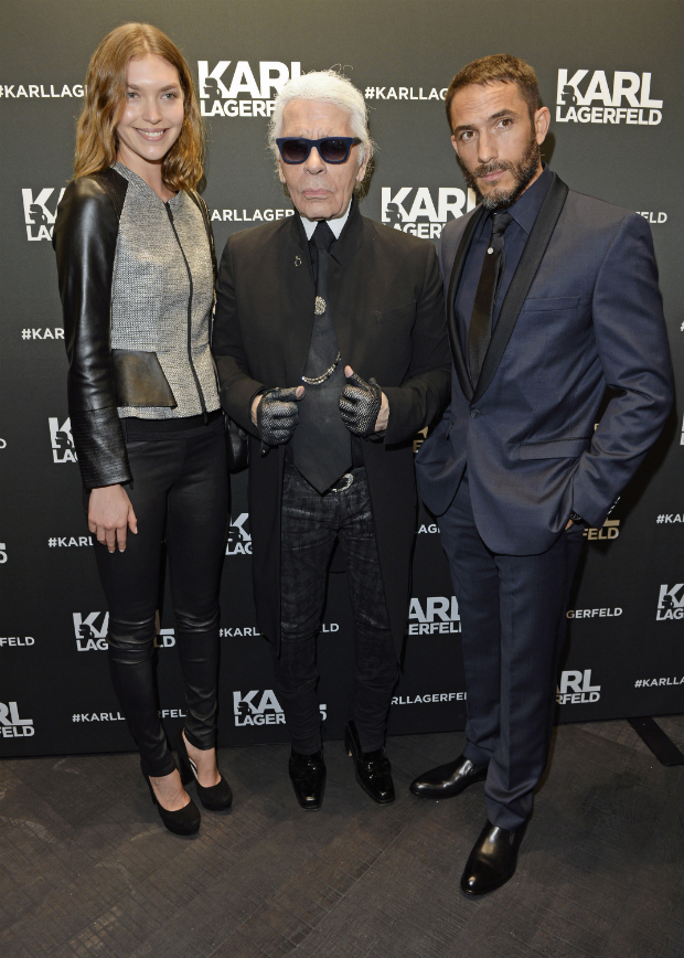 karl lagerfeld arizona muse