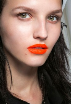 The Fluorescent Face: Spring's Most Understated Ways to Wear Neon Makeup