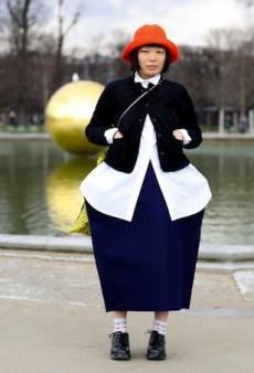 Paris Fashion Week Street Style: Bundling Up Is Cool