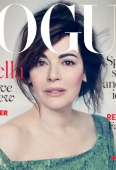 British TV Chef Nigella Lawson is UK Vogue's April Cover Subject (Forum Buzz)