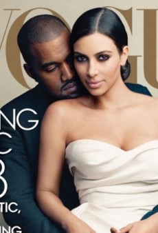 Kim Kardashian Only Just Getting Around to Picking Up a Copy of that Vogue Magazine Thing She Did