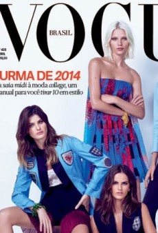 Vogue Brazil Fails to Impress with a 'Flat Looking' Cover for April Issue (Forum Buzz)