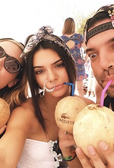 So There's This: Kendall Jenner Wears Oversized Givenchy Nose Hoop to Coachella