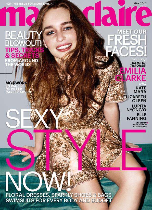 Emilia Clarke Covers Marie Claire