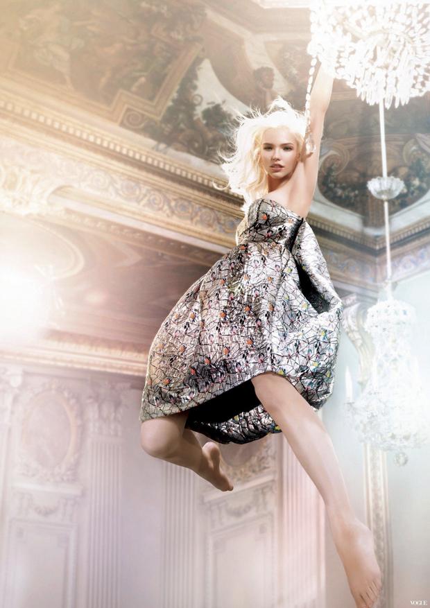 sasha luss ryan mcginley dior addict ad campaign