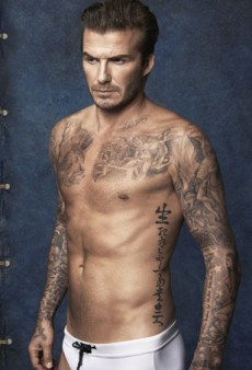 David Beckham Looking to Launch Men's Sportswear Label