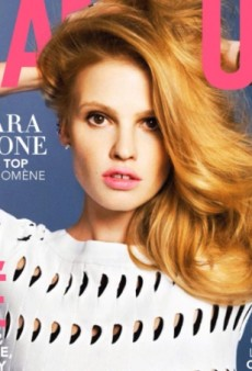 Lara Stone Channels Her Inner Bombshell for Glamour France (Forum Buzz)