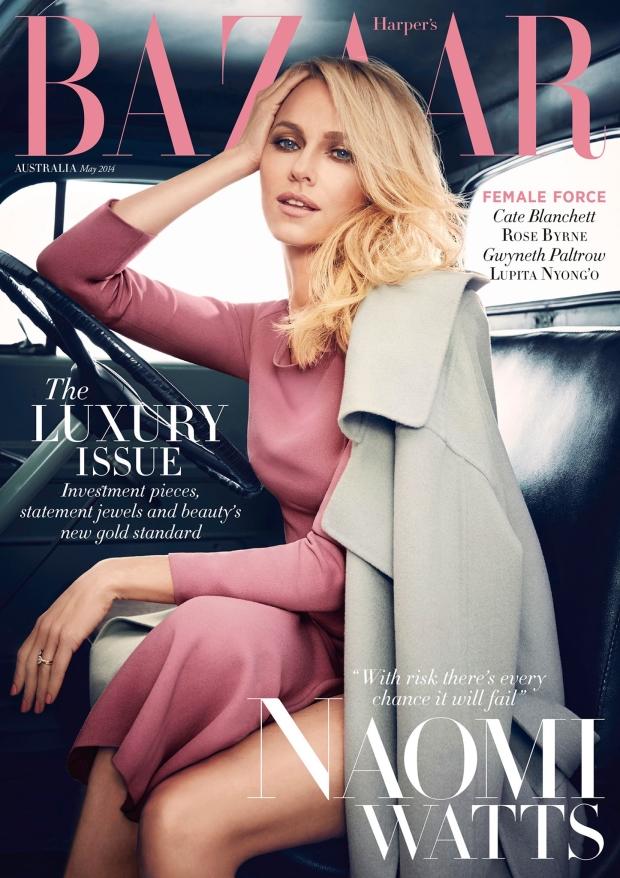 Harper's Bazaar Australia May 2014 Naomi Watts