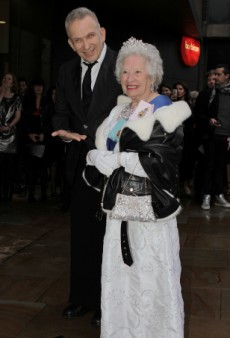 Jean Paul Gaultier Took the Queen to the London Opening of His Exhibition?