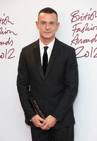 The British Fashion Awards 2012 held at The Savoy - Press Room