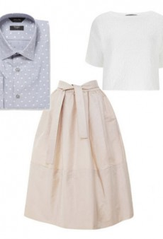 Style Challenge: How to Wear a Men's Dress Shirt Like a Lady