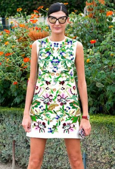 Amazing Spring Dresses Spotted on the World's Top Street Style Stars