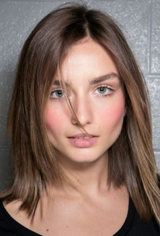 Feeling Flushed? The Rosiest Cheeks on the Spring Runways