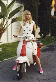 Suki Waterhouse in New Superga campaign