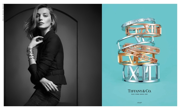 Tiffany & Co. Campagin Daria Werbowy Spring Summer 2014