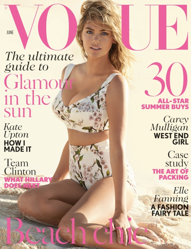 UK Vogue June 2014 Kate Upton