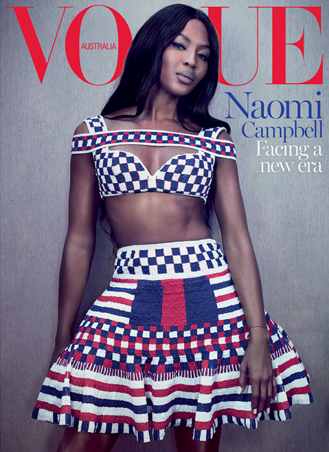 Vogue Australia Special Cover May 2014 Noami Campbell