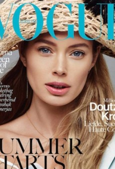A 'Photoshopped' Doutzen Kroes Lands Fourth Cover of Vogue Neatherlands (Forum Buzz)