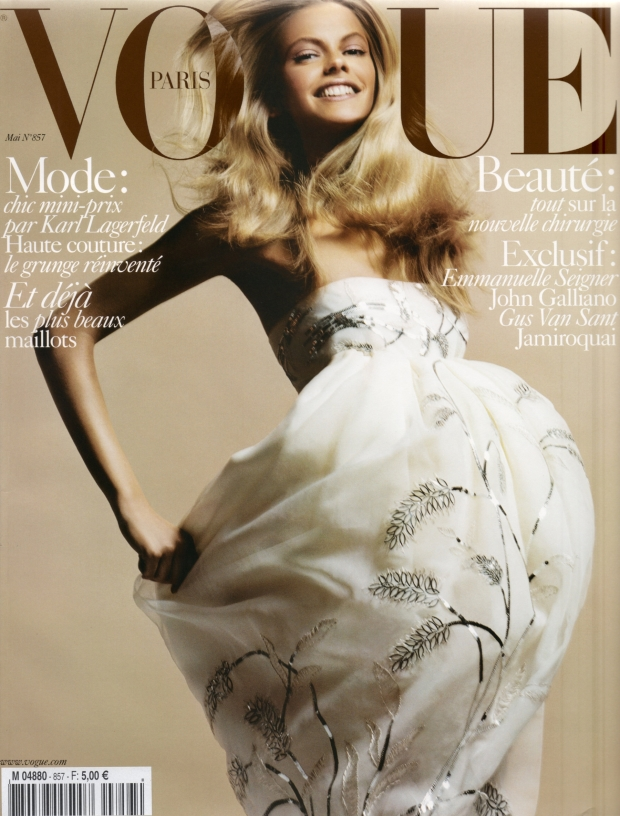 Flashback, Vogue Paris May 2005 Julia Stegner