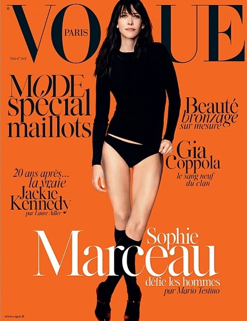 Vogue Paris May 2014 Sophie Marceau