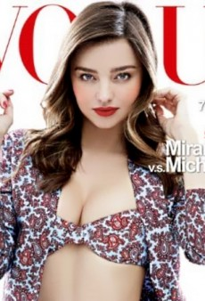 Vogue Taiwan Scores Miranda Kerr for Its May 2014 Cover (Forum Buzz)