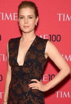 Amy Adams Makes a Statement in Tory Burch's Copper Embroidered Gown at Time's 100 Gala