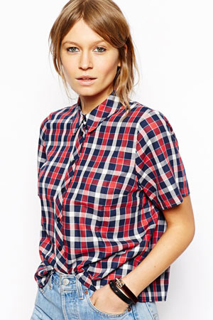 ASOS plaid shirt