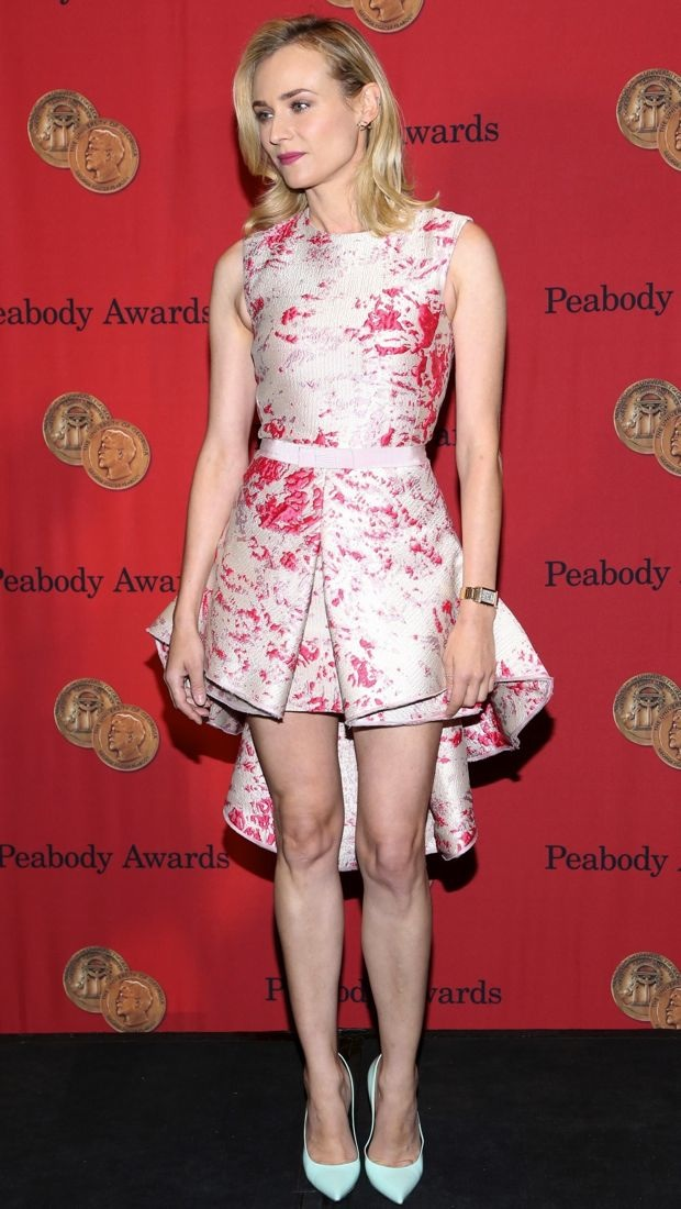 Diane Kruger rocks a unique Giambattista Valli Couture dress at the 73rd Annual George Foster Peabody Awards
