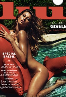 Gisele Bundchen's Latest Gig is This Naked Lui Magazine Cover