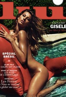 Gisele Bundchen's Latest Gig is This Naked Lui Magazine Cover