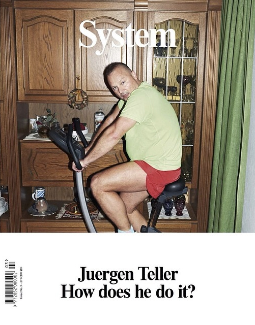 Juergen Teller System Magazine Cover