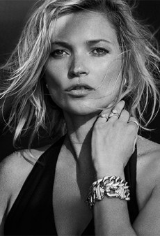 The Amazing Kate Moss Returns to David Yurman for the Fall 2014 Campaign