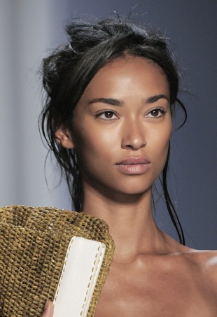Michael Kors spring 2014 runway beauty