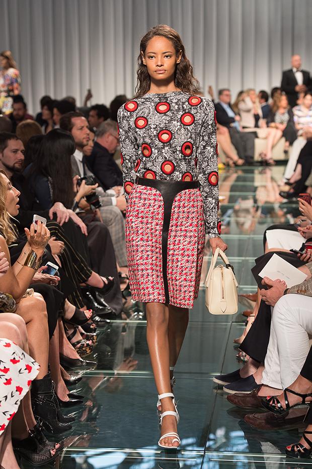 Malaika Firth for Louis Vuitton Cruise Collection 2015 0 Nicolas Ghesquiere