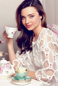 Miranda Kerr Designs a Tea Set, of All Things, for Royal Albert
